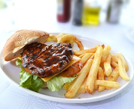 Nelson Mandela Bay Yacht Club Restaurant Burger