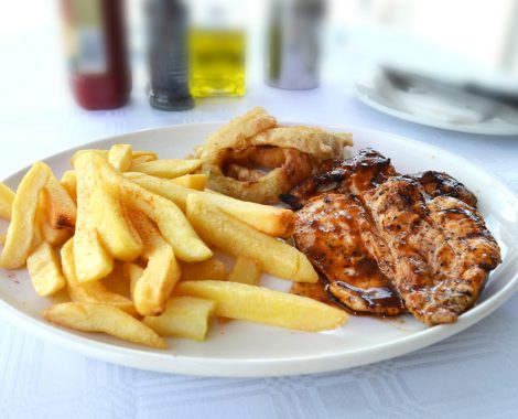 Nelson Mandela Bay Yacht Club Restaurant Chicken
